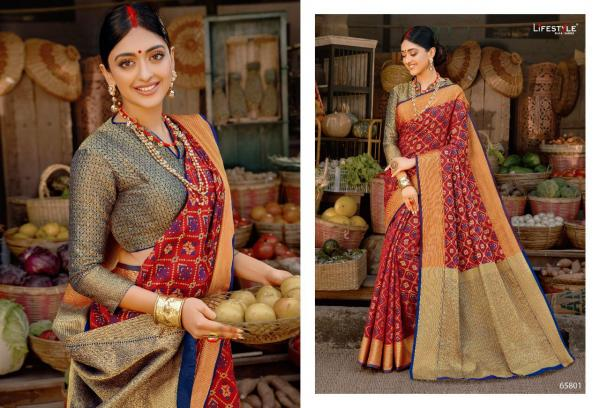 Lifestyle Saree Sarthak Vol-3 65801-65806 Series
