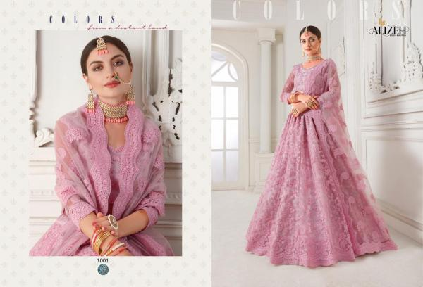 Alizeh Bridal Heritage Vol-1 1001-1004 Series