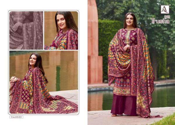 Alok Suits Trusha 838-001 To 838-010 Series