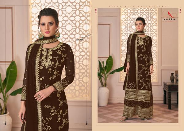 Kaara Suits Firdoous Colour 1001-1004 Series