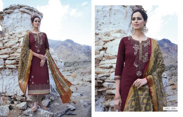 Kessi Fabrics Parampara Vol-5 5041-5050 Series