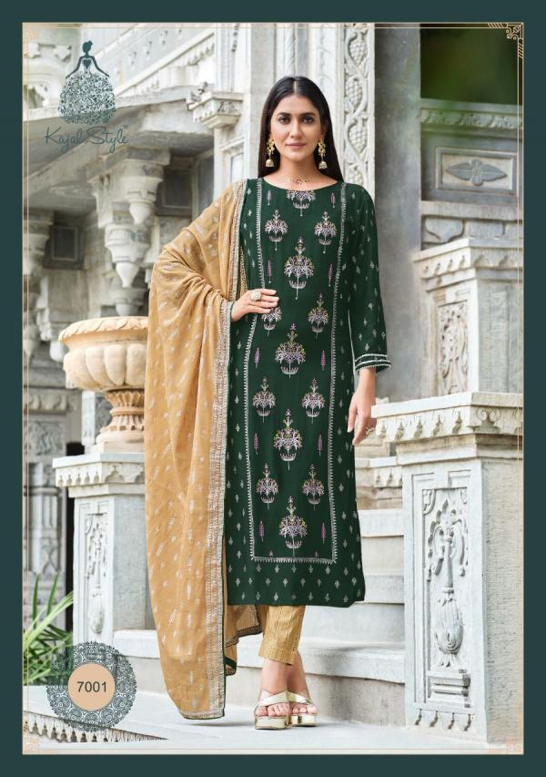 Kajal Style Fashion Gulzar Vol-7 7001-7008 Series