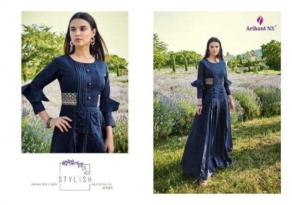 Arihant Designer Fiza Silk 6001-6008 Series