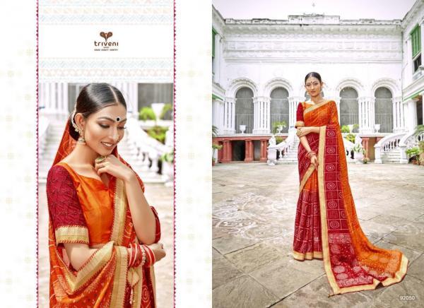 Triveni Saree Mangalam 92050-92057 Series