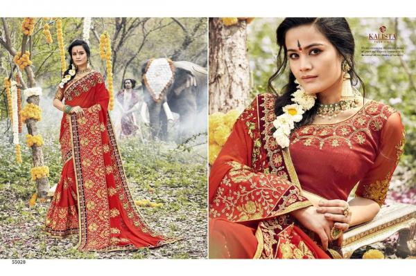 Kalista Fashions Virasat Vol-4 55028-55035 Series