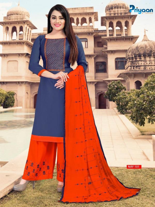Priyana Trendz Navya 101-107 Series