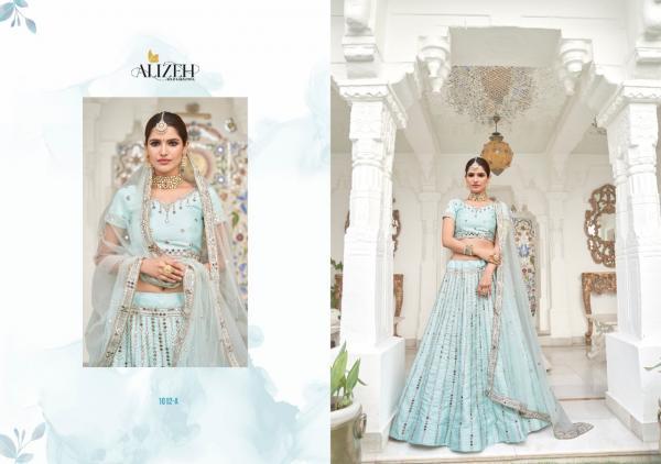 Alizeh Lehenga Mirror Maze 1012-1013 Color Edition