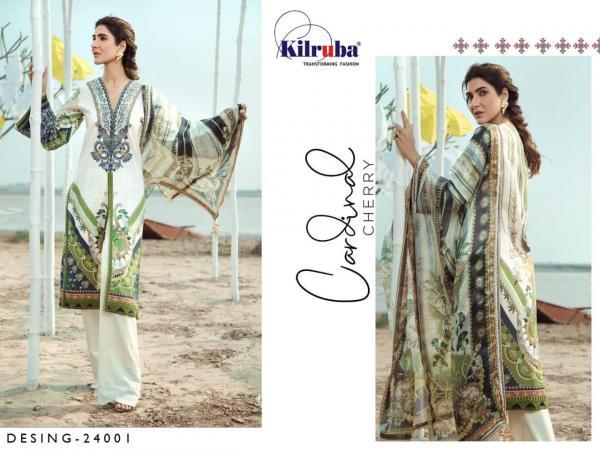 Kilruba Firdous Lawn Collection 20 24001-24004 Series