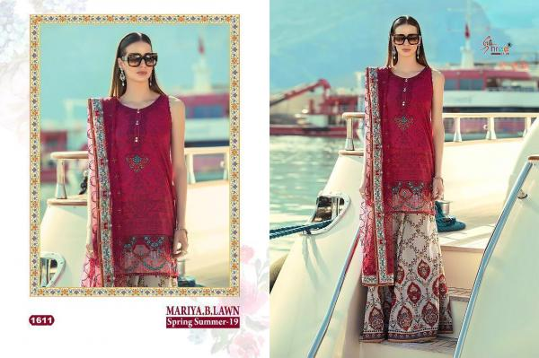 Shree Fabs Mariya B Lawn Spring Summer-19 1611-1618 Series