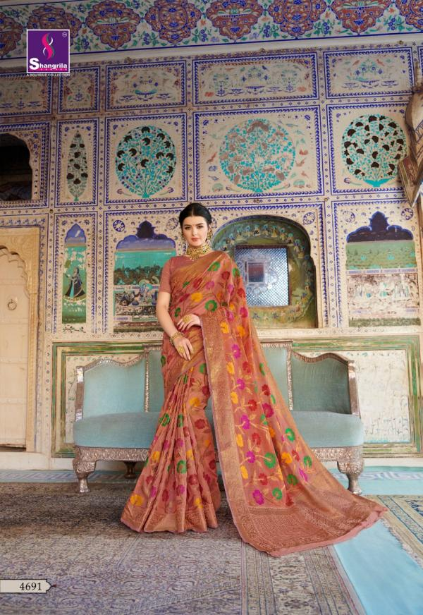 Shangrila Saree Rooprachna 4691-4696 Series