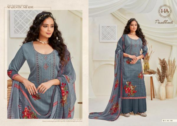 Harshit Fashion Pankhudi 541-001 to 541-010 Series