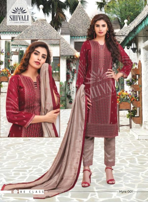 Shivali Fashion Myra 001-006 Series