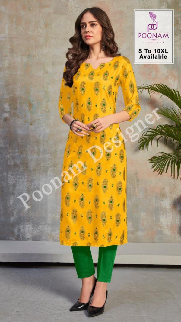 Poonam Designer Mina Kari 1001-1008 Series