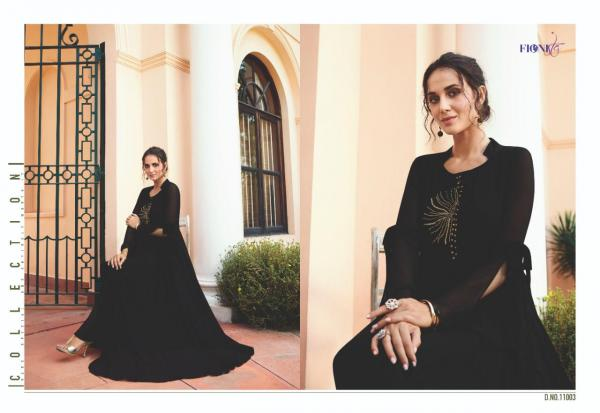 Fionista Jullia 11003 Black Gown