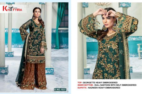 Khayyira Suits Emaan Adeel 1037-1040 Series