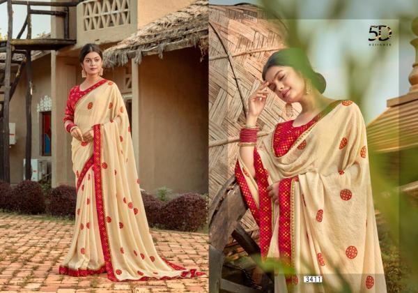 5D Designer Rasam 3411-3418 Series