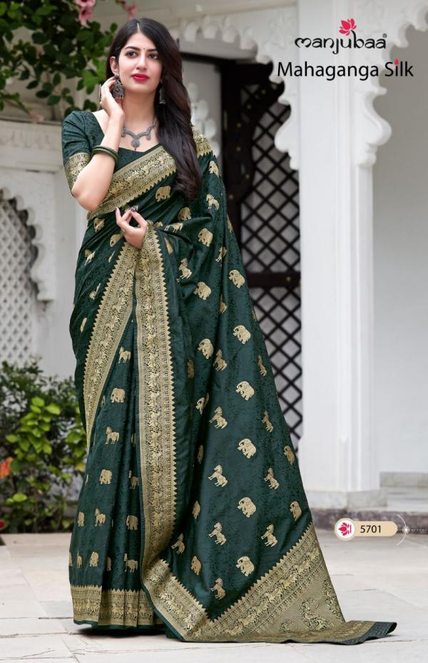Manjubaa Mahaganga Silk 5701-5708 Series