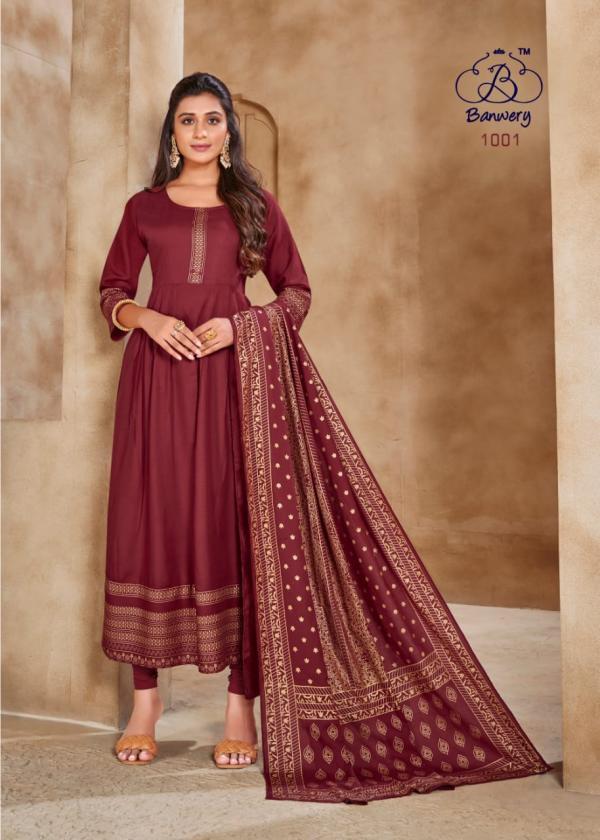 Banwery Pankh 1001-1005 Series