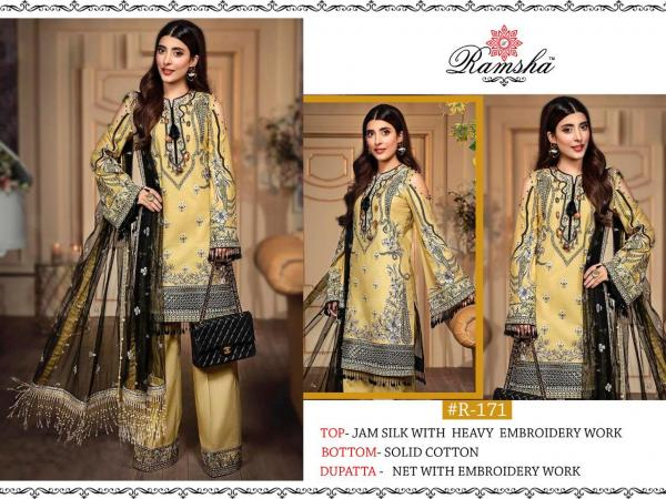 Ramsha Suits 171-172 Series