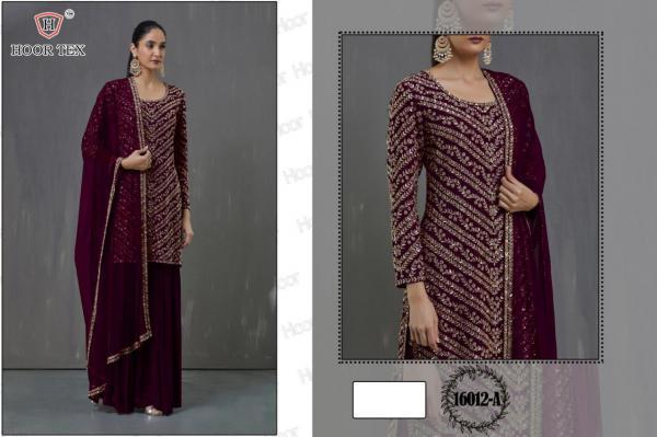 Hoor Tex Nafiza Colour Gold Vol-16 16012 Colors
