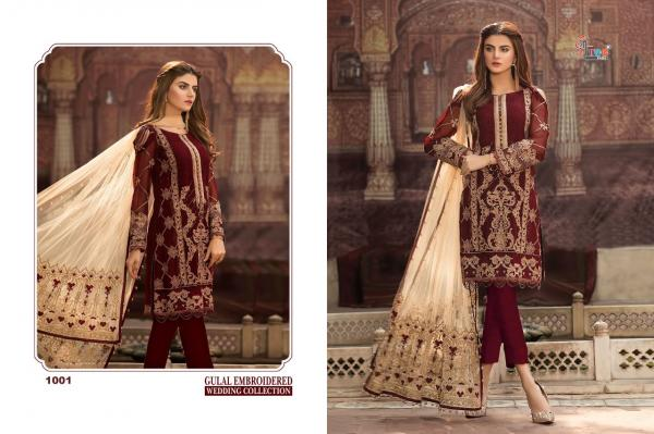 Shree Fabs Gulaal Embroidered Wedding Collection 1001-1006 Series