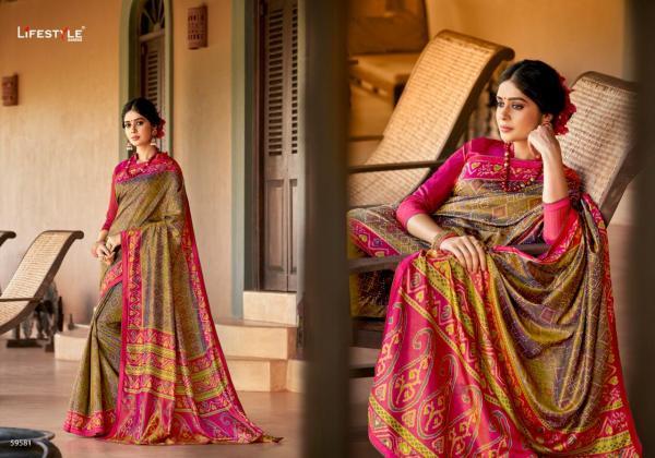 Lifestyle Saree Kamakshi 59581-59590 Series
