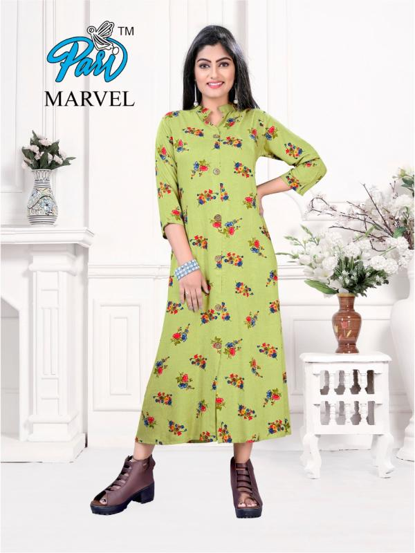 Pari Fashion Marvel 101-106 Series