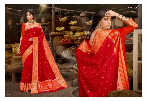 Lifestyle Saree Shubh Muhuratam Vol-2 65861-65866 Series