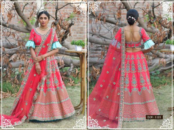 Peafowl Vol-76 Bridal Lehenga 1121-1130 Series