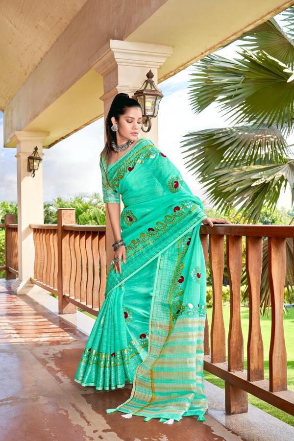 Rajyog Fabrics Sanayaa Ethnic Colors