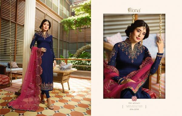 Fiona Kritika Heavy Dupatta Vol-18 22541-22547 Series