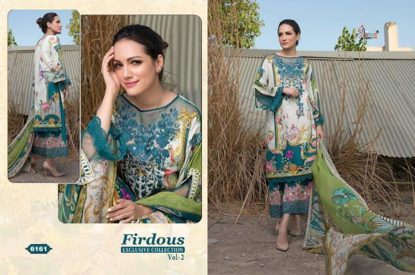 Shree Fabs Firdous Exclusive Collection Vol-2 6161-6168 Series