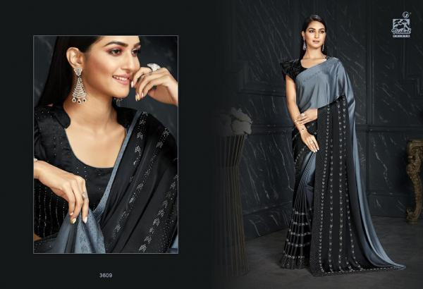 Vishal Saree D'amore Collection Vol-20 3609-3626 Series