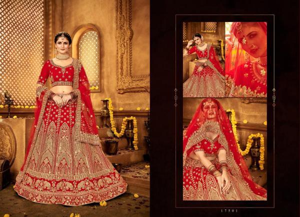 Bridal Designer Lehenga Choli 17501-17505 Series