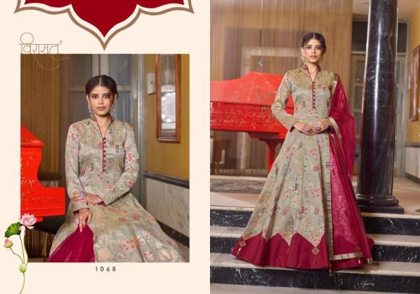 Virasat Gowns Muskan 1068-1071 Series