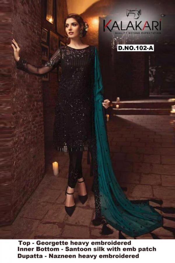 Khayyira Suits Serene Colors 102
