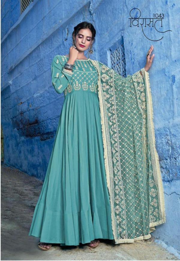 Virasat Gowns Vol-10 1043-1046 Series