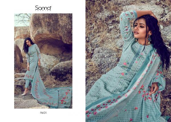 Sanna Fashion Saheera 9601-9610 Series