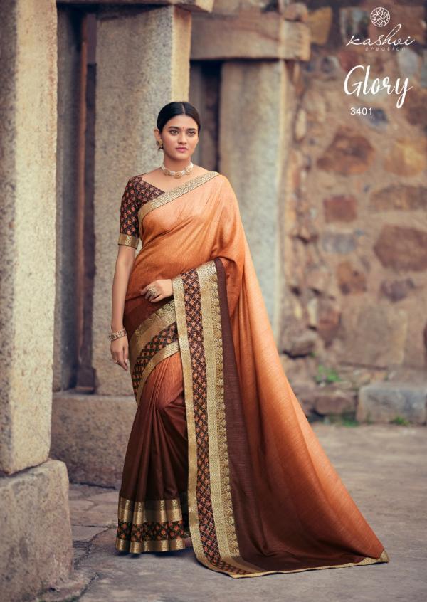 Kashvi Creation Glory 3401-3410 Series