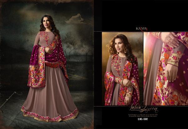 Karma Trendz Saufie Chaudhari 5582 Colors