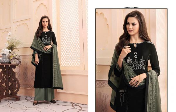 Kessi Fabrics Rangoon Cross Line Vol-2 2251-2258 Series