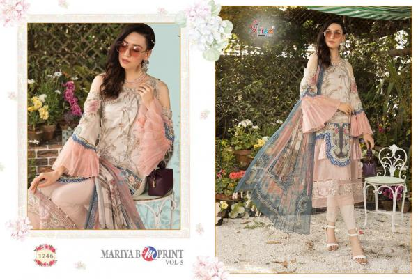 Shree Fabs Maria B MPrint Vol-5 1246-1253 Series