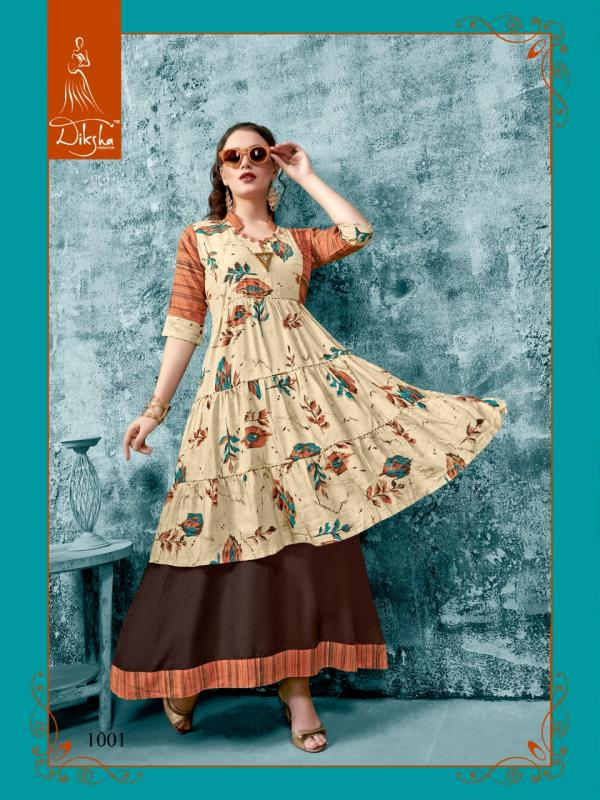 Diksha Fashion Free Style Vol-1 1001-1007 Series