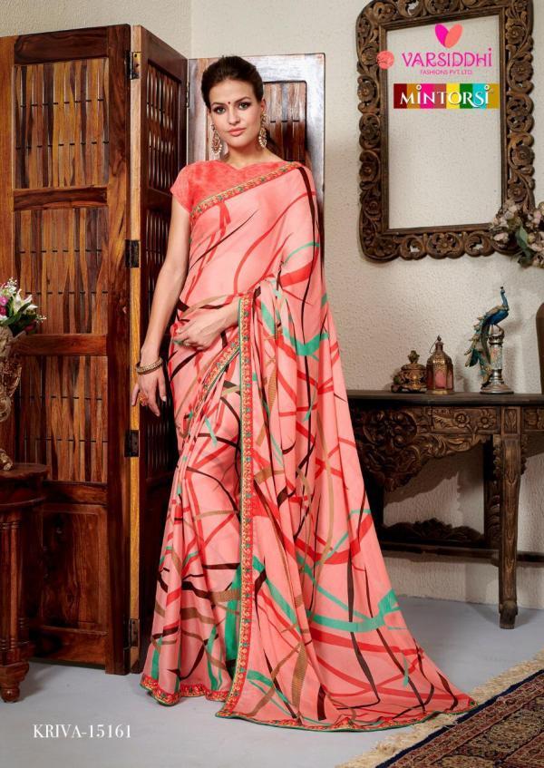 Varsiddhi Fashions Mintorsi Kriva 15161-15168 Series