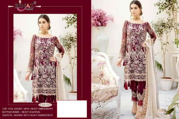 Rinaz Fashion Rangoon 2501-2507 Series