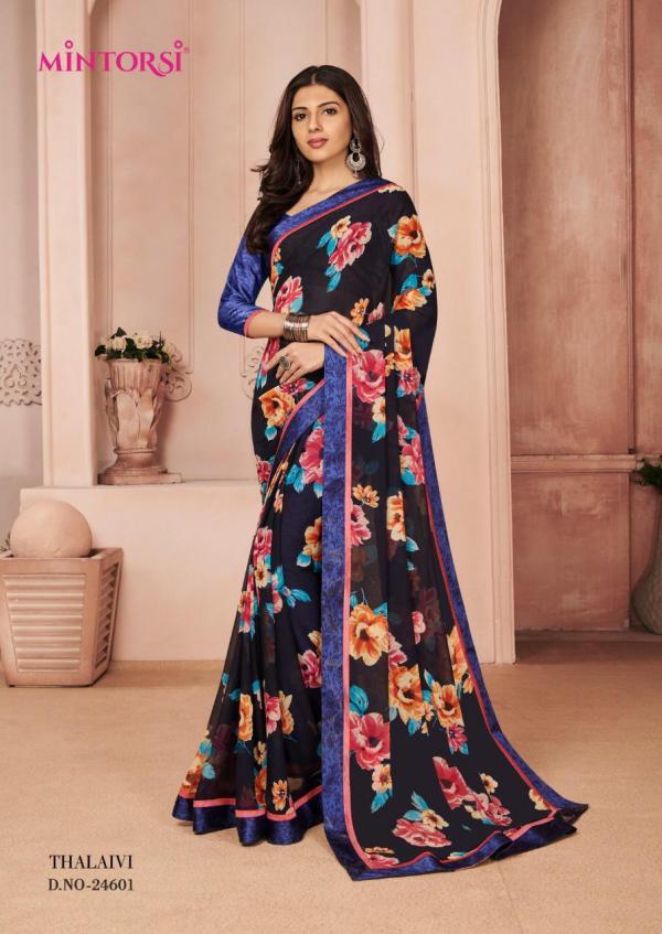 Mintorsi Saree Thalaivi 24601-24611 Series