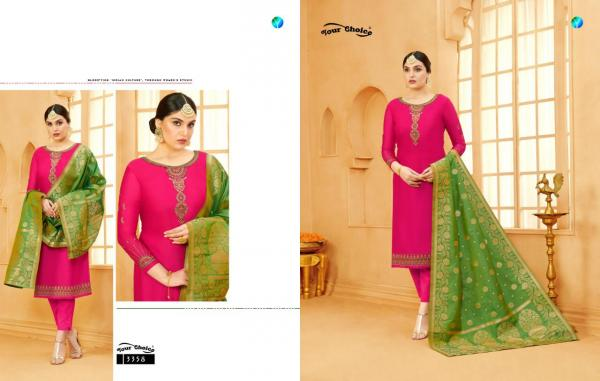 Your Choice Banarasi Vol-4 3358-3363  Series