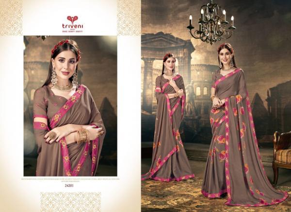 Triveni Saree Nalini 24201-24208 Series