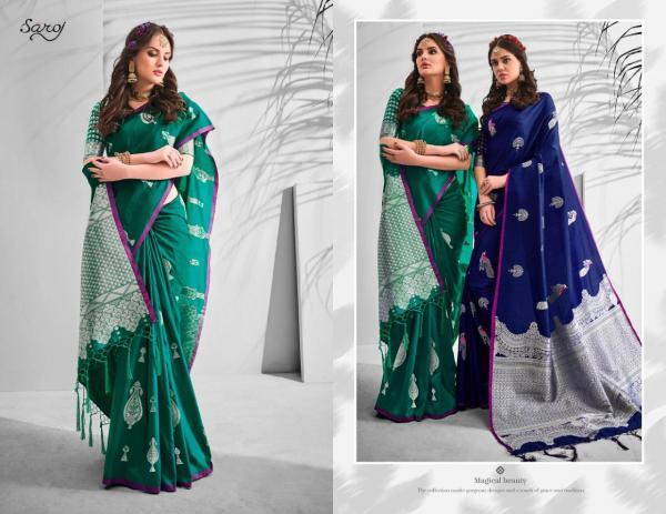 Saroj Saree Sargam 210001-210006 Series