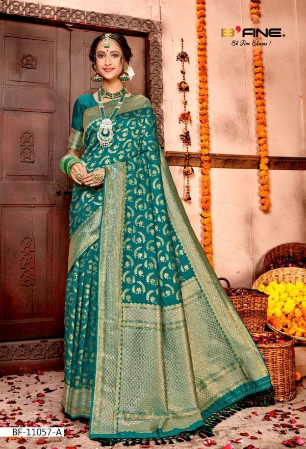 B Fine Saree Madhubala 11507-A to 11507-D Series